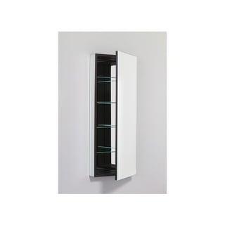 "Robern PLM1640B 15"" x 40"" Frameless Medicine Cabinet Right Hinged with Plain Edg"