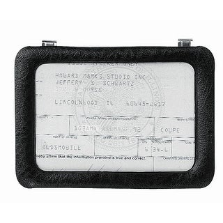 "Custom Accessories 43331 Clip-On Certificate Holder 3-3/8""x5-1/4"""