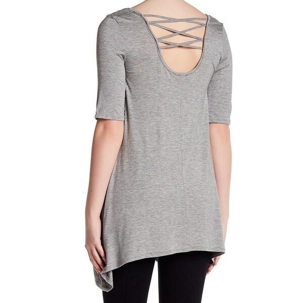 Shop Olivia Sky NEW Gray Heather Women's Size Medium M Criss