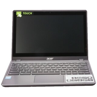 "Grade B Acer C720P 2625 11.6"" Refurb Laptop - Intel Celeron 1.4 GHz 4GB 16GB eMMC Chrome OS Webcam Touchscreen - Bluetooth"