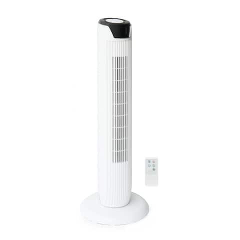 Tower Fan with Remote and Timer