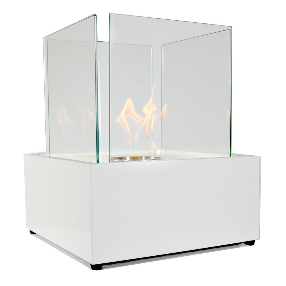 Sunnydaze Large Cubic Ventless Tabletop Bio Ethanol Fireplace - Thumbnail 5