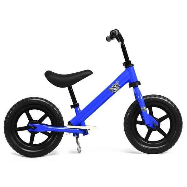 Adjustable 12/'/' Kid Balance Training Bike No-Pedal Learn Ride Pre Push Bicycle