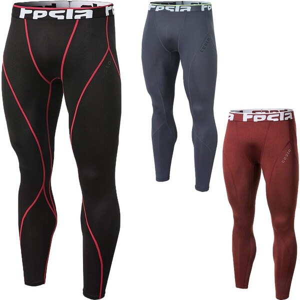 9c39041a76f33 Shop TSLA Tesla YUP33 Thermal Winter Gear Baselayer Compression Pants -  Free Shipping On Orders Over $45 - Overstock - 25636504
