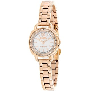 Coach Women's Tatum 14502575 Silver Dial watch