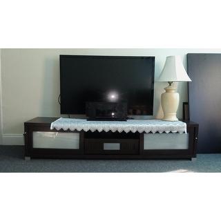 Baxton studio temple contemporary dark brown wood 70 inch for Furniture of america danbury modern