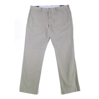 Link to Polo Ralph Lauren Mens Pants Gray Size 38X34 Slim Fit Chino Stretch Similar Items in Big & Tall