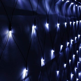 Link to 204 LEDs Green Net Mesh String Lights, 8 Modes, Daylight Similar Items in String Lights