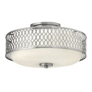 Hinkley Lighting 53241-LED 1 Light LED Indoor Semi-Flush Ceiling Fixture from the Jules Collection
