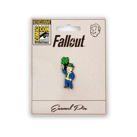 Fallout Luck S.P.E.C.I.A.L. Perk Pin Official Fallout Video Game Enamel Pin - Blue