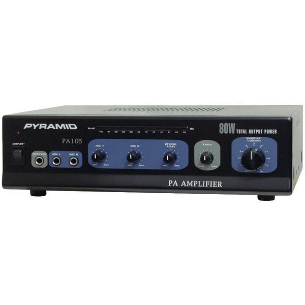 PYRAMID PA105 Amp with Microphone Input (80 Watt)