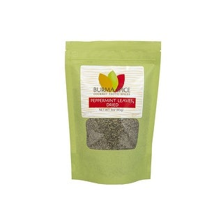 Burma Spice Gourmet Exotic Spices Peppermint Leaves Dried 3oz