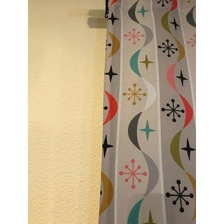 Andi Bird Retro Wave Blackout Curtain Panel