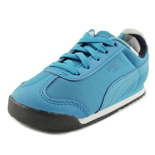Puma Roma Basic Geometric Camo  Toddler   Synthetic Blue Fashion Sneakers