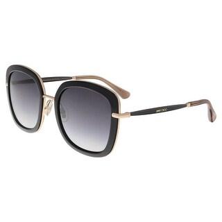 Jimmy Choo GLENN/S 0QBE Black Square sunglasses
