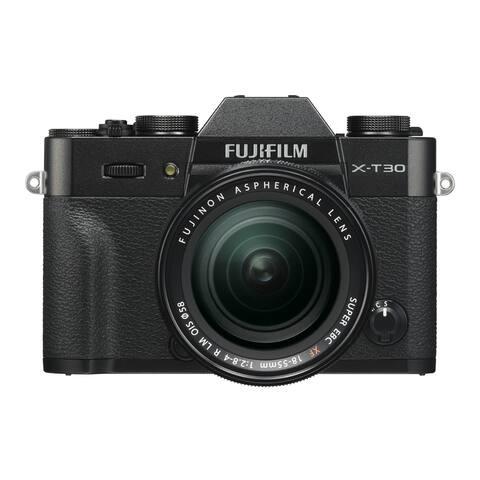 Fujifilm X-T30 Mirrorless Camera with 18-55mm Lens (Black)