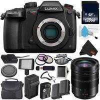 Panasonic Lumix DC-GH5S Mirrorless Micro Four Thirds Digital Camera International Model + Panasonic f/2.8-4 Lens Bundle