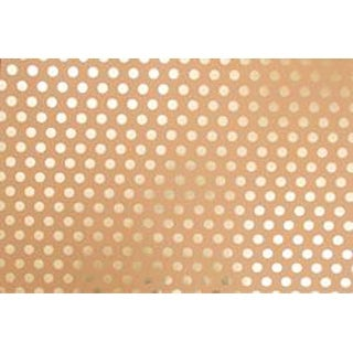 "Kraft W/Gold Foil Dots - Poster Shop Posterboard 22""X28"""