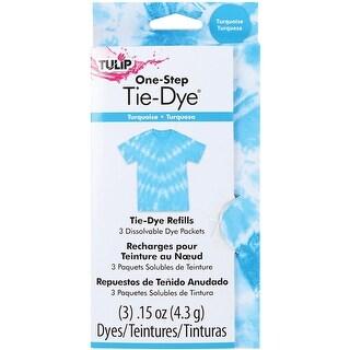 Turquoise - Tulip One-Step Tie-Dye Refill .13Oz 3/Pkg