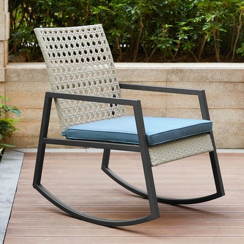 Point Lay Rocking Chair by Havenside Home