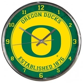 Wincraft 2799212 Clock 12 In Round Oregon University