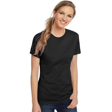 Hanes Women's Nano-T® T-shirt - Color - Black - Size - 3XL
