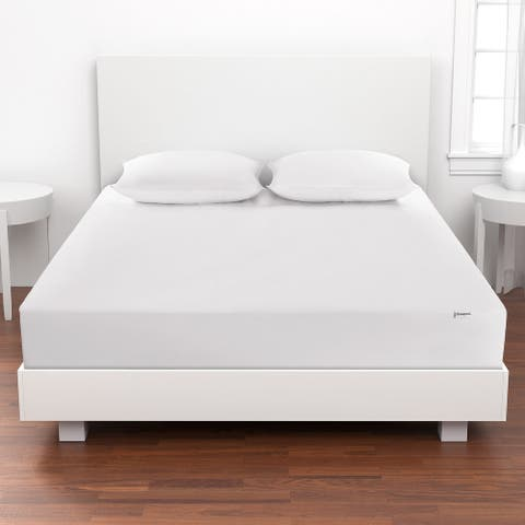 Beautyrest 300 Thread Count Naturally Cool Mattress Protector Twin