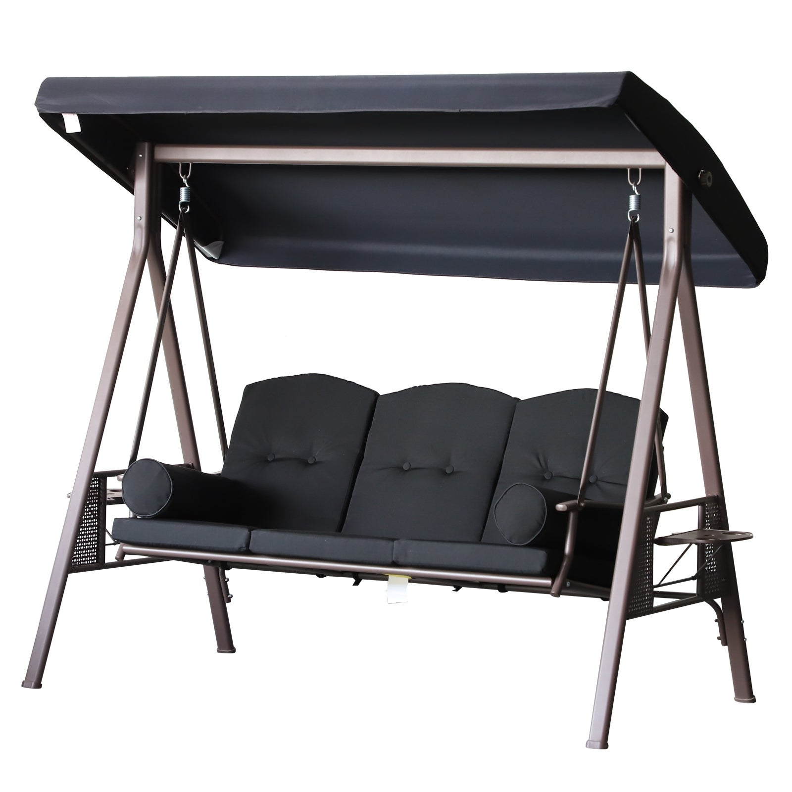 Steel Canopy Cushioned Seat