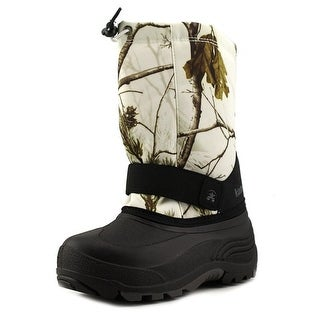 Kamik Rocket 2 Youth Round Toe Canvas Multi Color Snow Boot