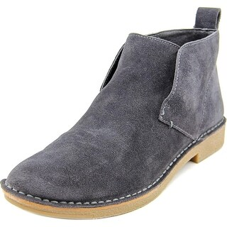 Dolce Vita Fern Women Round Toe Suede Gray Chukka Boot