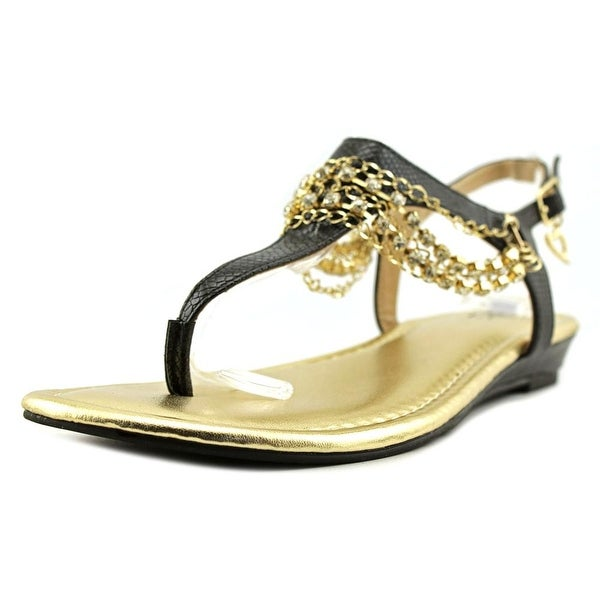 Thalia Sodi Zellap Women Black Sandals
