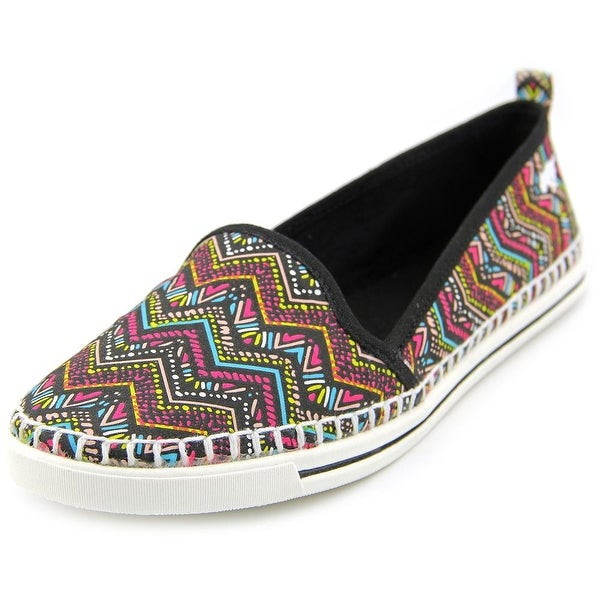 Rocket Dog Sammie Women  Round Toe Canvas Multi Color Loafer