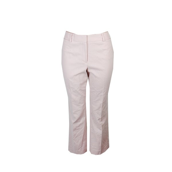 a7d7e7ab4 Shop Tommy Hilfiger Blush Pink Bristol Slim Ankle Pants 12 - Free Shipping  On Orders Over $45 - Overstock - 24317255