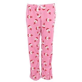 em & alfie Women's Plus Size Holiday Print Pajama Pants