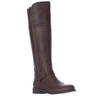 GUESS Hailee Riding Boots - Dark Brown