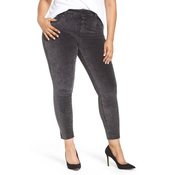 Lucky Brand Women's Plus Velvet Skinny Pants Stretch