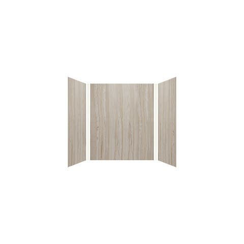 """Transolid Expressions 42-in X 60-in X 72-in Glue to Wall Tub/Walls - 60"""" x 42"""" x 72"""""""