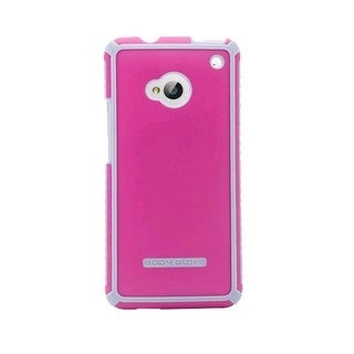 Body Glove Tactic Brushed Series Case for HTC One/M7 (Raspberry/Silver) - 934230