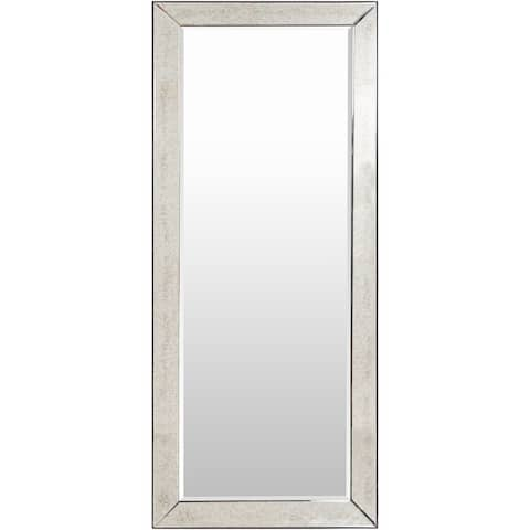 "Gael Traditional Beveled 72-inch Wall Mirror - 30"" x 72"""