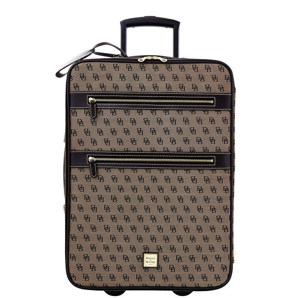 Dooney & Bourke Signature Rolling Suitcase (Introduced by Dooney & Bourke at $695 in Oct 2013) - b7 black