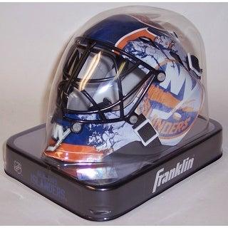NY New York Islanders Franklin Sports NHL Mini Goalie Mask