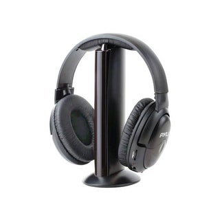 Pyle Audio PYRPHPW5B Pyle Home PHPW5 Professional 5 in 1 Wireless Headphone System