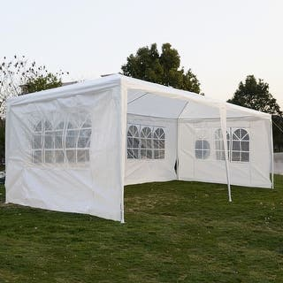 Costway 10'x20'Outdoor Canopy Party Wedding Tent|https://ak1.ostkcdn.com/images/products/is/images/direct/053639020b1a6724e1ddbb65c8c4a8f973aee253/Costway-10%27x20%27Outdoor-Canopy-Party-Wedding-Tent.jpg?impolicy=medium