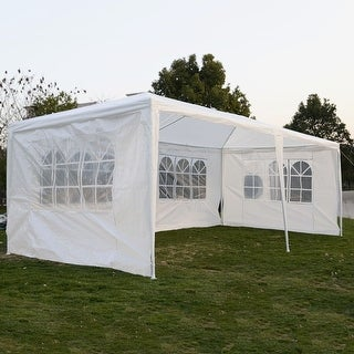 Costway 10u0027x20u0027Outdoor Canopy Party Wedding Tent