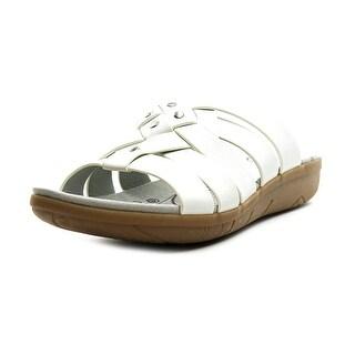 Baretraps Jaydin Women  Open Toe Synthetic White Slides Sandal