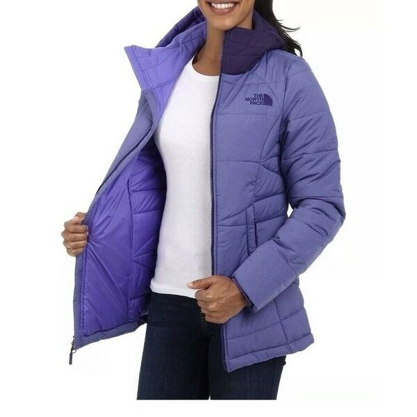 The North Face Purple Womens Size Small S Hood Roamer Parka Jacket