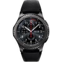 Samsung Gear S3 Frontier R765V Verizon Smartwatch w/ IP68 Rating (Water & Dust Resistant) - Gray (Certified Refurbished)