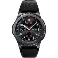 Samsung Gear S3 Frontier R765V Verizon Smartwatch w/ IP68 Rating (Water & Dust Resistant) - Gray (Certified Refurbished)