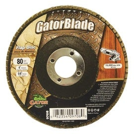 Gator Blade 4X5/8 80Gr Flap Disc
