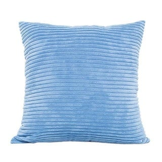 Solid color Throw Pillow Case Decorative Pillow Cover 21297543-330 (As Is Item)